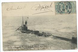CPA La Rochelle La Plaice Sous-Marin Le Lutin Navire De Guerre Bateaux - La Rochelle