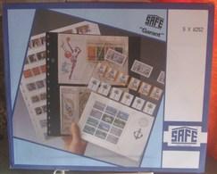I.D. - Feuilles GARANT - 2 X 5 CASES Pour Carnets Longs Fond Transparent - REF. 8252 (5) - Albums & Reliures
