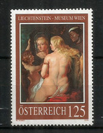 """AUTRICHE. """"Venus Au Miroir"""" De Rubens.  Un Timbre Haute Faciale Neuf ** - Rubens"""