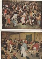 PIETER BRUEGEL Danse Et Repas De Noces1566.1568 - Peintures & Tableaux