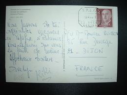 CP Pour La FRANCE TP FRANCO 5 P OBL.19 AOUT 71 S.P.E.A.P. CA?ONGE GERONE - 1931-Aujourd'hui: II. République - ....Juan Carlos I