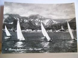1957 - Marina Di Carrara - Alpi Apuane - Barche A Vela - Gara Velica - Ed. Paglini - Avenza - Carrara