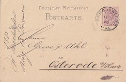 DR Ganzsache K2 Burg A. D. Wupper 13.12.83 - Deutschland