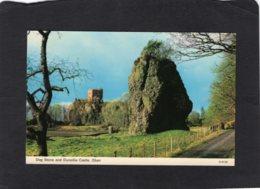 83480    Regno Unito,  Scozia,  Dog Stone And Dunollie Castle,  Oban,  VG - Argyllshire