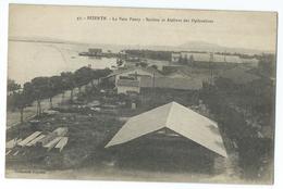 CPA Tunisie Bizerte Base Hydravions Baie Ponty Avions - Tunisie