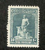 W-12360 Turkey 1926 Scott#634(*) Offers Welcome - 1921-... République