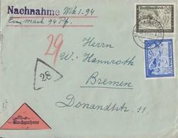 DR NN-Brief Mif Minr.711,712 Berlin 20.9.40 - Deutschland