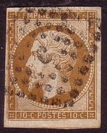 Napoléon III N°13Bb Type II * 10 C Brun - 1853-1860 Napoléon III.