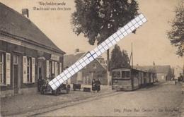 """WECHELDERZANDE-LILLE """" WACHTZAAL VAN DEN STOOMTRAM-OLD TIMER-TRAM A VAPEUR""""UITG.A.VAN OECKEL-DE DONDER - Lille"""