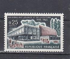 1965 - YT N° 1448** - Maison Des Jeunes Et De La Culture De Troyes - France