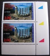 1938 - 1996 - PAIRE N°3037  TIMBRES NEUFS** CdF ☛☛☛ PRIX DE DEPART A MOINS DE 15% DE LA COTE CATALOGUE - France