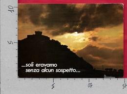 CARTOLINA VG ITALIA - GRADARA (RN) - Tramonto - 10 X 15 - ANN. 2002 - Rimini