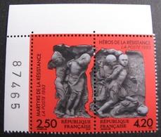 1939 - 1993 - PAIRE N°2813/2814  TIMBRES NEUFS** CdF ☛☛☛ PRIX DE DEPART A MOINS DE 15% DE LA COTE CATALOGUE - France