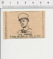 Presse 1951 Saint Maxime Evêque De Riez 51C10 - Old Paper