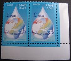 1940 - 2001 - PAIRE N°3388 TIMBRES NEUFS** CdF ☛☛☛ PRIX DE DEPART A MOINS DE 15% DE LA COTE CATALOGUE - France