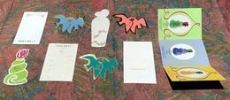 Lot 9 Cartes Parfumées NINA RICCI (Réf 5) - Cartes Parfumées