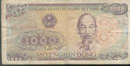 Billet 1000 Dong VietNam 1988 - Viêt-Nam