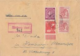 Gemeina. Wert-R-Brief Mif Minr.929,945 UR, 2x 956 Ansehen !!!!!!!!!!!!! - Gemeinschaftsausgaben