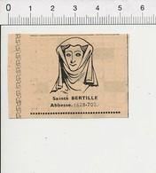 Presse 1951 Sainte Bertille Abbesse 51C10 - Unclassified