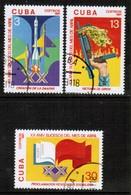 CUBA  Scott # 2406-8 VF USED (Stamp Scan # 445) - Cuba
