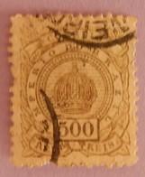 BRESIL ANNEES 1884/1888 YT 65 OBLITERE SERIE COURANTE (MANQUE UNE DENT AU SUD) - Brasil