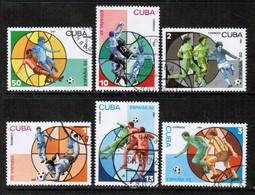 CUBA  Scott # 2391-6 VF USED (Stamp Scan # 445) - Cuba