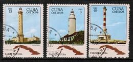 CUBA  Scott # 2440-2 VF USED (Stamp Scan # 445) - Cuba