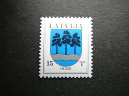 Definitive Issue Arms # Latvia Lettland Lettonie # 2000 MNH # Mi. 495 II - Lettonie