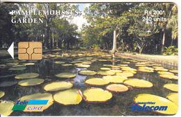 MAURITIUS ISL. - Pamplemousses Garden 3, Chip GEM3.3,  Tirage %30000, 10/03, Used - Maurice