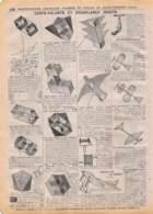 Manufacture D'Armes De St-Etienne (Loire) Début 1900 - Cerfs-Volants Et Aéroplanes Jouets - Advertising