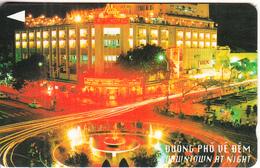 VIETNAM(GPT) - Downtown At Night(60000D), CN : 3UPVA, Tirage 28700, Used - Vietnam