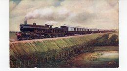 Les Locomotives (Royaume-Uni)  SOUTHERN BELLE 60 MINUTE EXPRESS LONDON BRIGHTON. - Trains