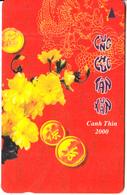 VIETNAM(GPT) - Lunar New Year 2000, Kanh Thin 2000(60000D), CN : 7MVSA, Tirage 20000, Used - Vietnam