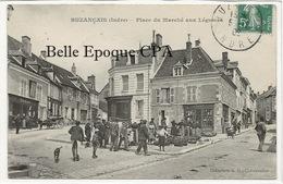 36 - BUZANÇAIS - Place Du Marché Aux Légumes +++ Coll. G. G., Châteauroux +++ 1909 - France