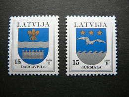 Definitive Issue Arms # Latvia Lettland Lettonie # 2000 MNH # Mi. 521/2 I - Lettonie