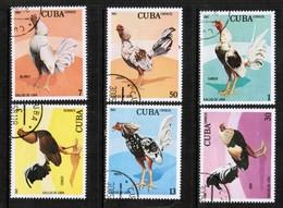 CUBA  Scott # 2412-7 VF USED (Stamp Scan # 446) - Cuba
