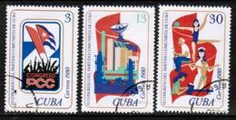 CUBA  Scott # 2376-8 VF USED (Stamp Scan # 446) - Cuba