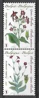 OCB Nr 4000/01 Flora Gentse Floralien Gantoise  Fauna Samenhangend Se Tenant MNH !! - Unused Stamps