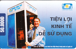 VIETNAM(chip) - Phone Booth, Tien Loi Kinh Te De Su Dung, Cardphone Vietnam 50000D, Chip GEM3.3, 10/05, Used - Vietnam