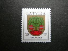Definitive Issue Arms # Latvia Lettland Lettonie # 2001 MNH # Mi. 463 DIy - Lettonie