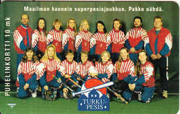 FINLAND - Turku Pesis, Turun Puhelin Telecard, CN : 5010, Tirage 9400, Exp.date 12/97, Used - Finlande