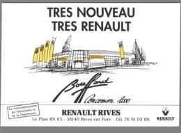 CPM 38 - Rives - Renault Rives - Bouffard - France