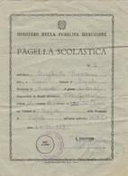 """8292 Eb.    Pagella Scolastica  Scuola """" Vito Fornari """""""" Napoli 1959 - Old Paper"""