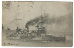 CPA Cuirassé Torpilleur Le Brennus Navire De Guerre - Guerre