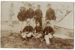 CPh Militaria - Photo De Soldats Français Du 87ème Régiment Au Campement - Militaria