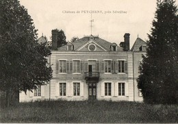 87. CPA. PUYCHENY. Chateau De Puicheny Près Séreilhac. - France