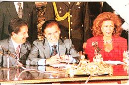 ARGENTINA(Urmet) - Menem, Duhalde And M.J. Alsogaray, Telecom Argentina Telecard, Used - Landschappen