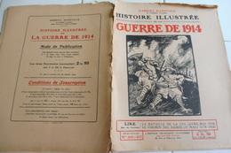 206 207-Histoire Illustrée Guerre 1914 -Chemin Des Dames- La Lys-Hazerbrouck Rue Rubecque-Bailleul-Mines Bruay Cité 16 - - Revues & Journaux
