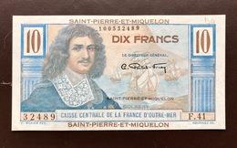FRENCH TERRITORIES P21 10 FRANCS 1947 UNC - Billets