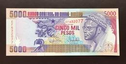 GUINEA BISSAU P14B 5000 PESOS 1993 UNC - Guinee-Bissau